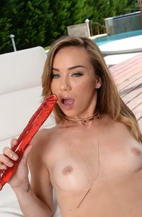 Alexis Capri Pleasuring Her Juicy Pussy