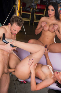 Rachel Starr And Anissa Kate In Ffm