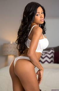 Busty Black Beauty Anya Ivy