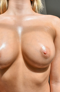 Zoey - Natural Tits In Public