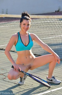 Slutty Tennis Player Carrie