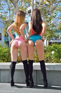 Two Glamour Sluts Lana & Stella