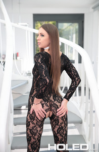 Analed In Lace With Veronika Clark