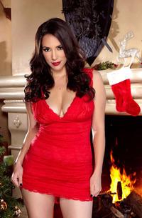 Jelena Jensen - Christmas Look