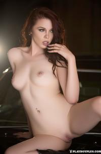 Redhead Piercing Girl Nico Faye