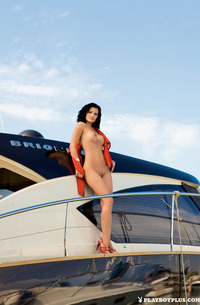 Ana Dravinec - Day On Yacht