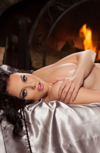 Playboy Brunette Iana Little