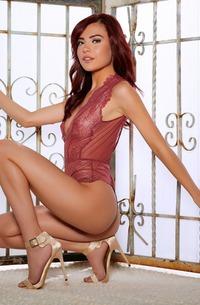 Hot Redhead Playmate Sabina Rouge