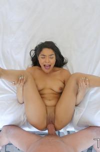 Horny Maya Bijou Gets Hot Sperm In Pussy