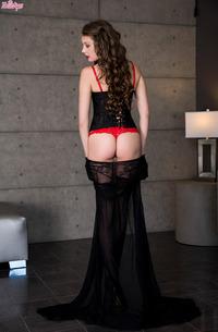 Leggy Elena Koshka In Stockings