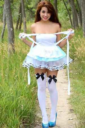 Naughty Alice In Wonderland Strips
