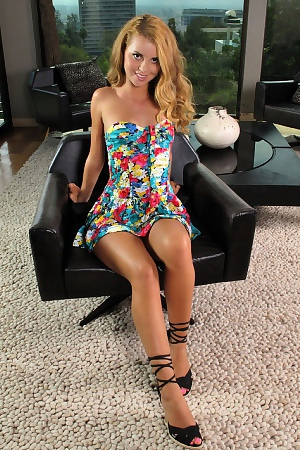 Jessie Rogers On The Rug
