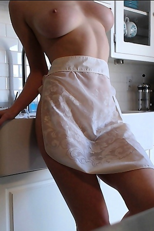 Amber Hahn Toying In The Kitchen