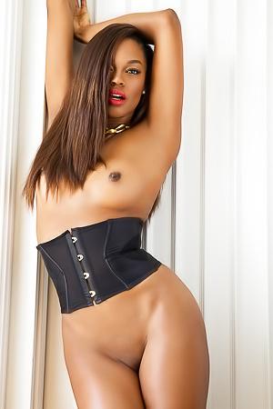 Black playmate Eugena Washington
