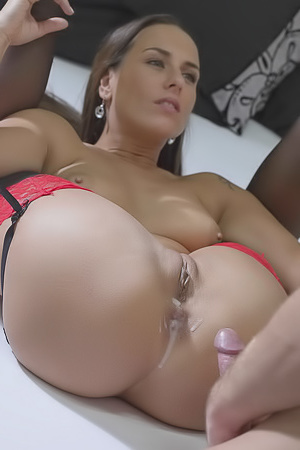Mea Melone - cum in ass