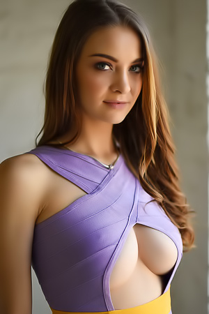 Emelia Paige - sensual look