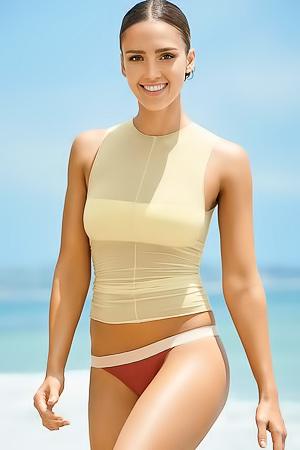 Naked Jessica Alba