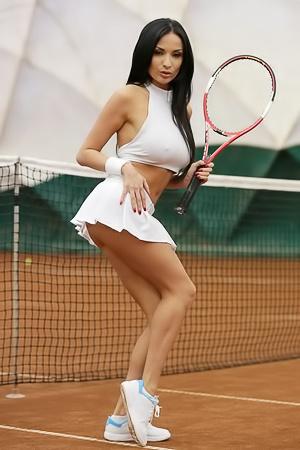 Anissa Kate - anal tennis
