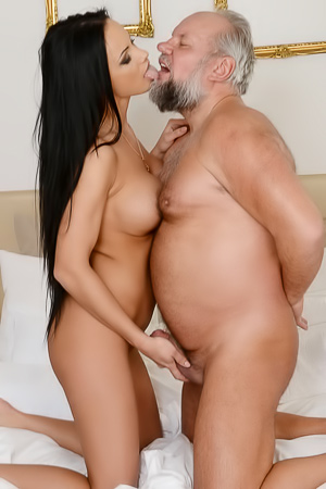 Samantha Rebeka Is Fucked By Old Man