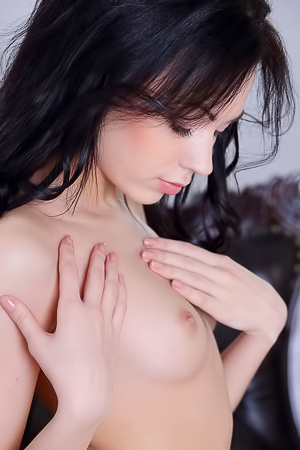 Sweet brunette Joanna