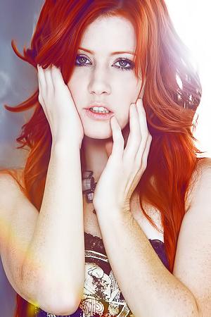 Redhead playmate Elle Alexandra