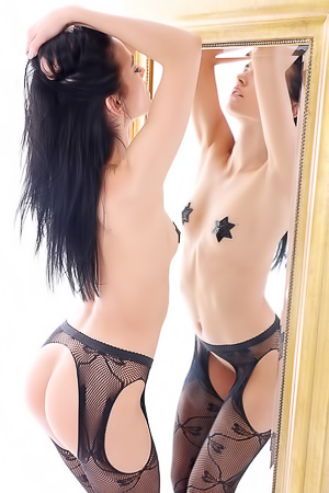 Sapphira - Lace Stockings
