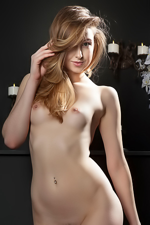Beautiful Ginger Frost - naked babe