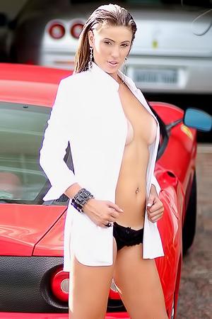 Bella loves sport cars