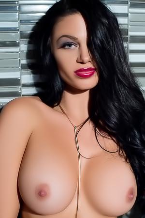 Stunning brunette Kaycee Ryan