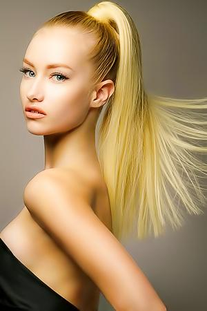 Glamour haircut models