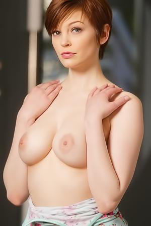 Bree Daniels - boobed redhead milf