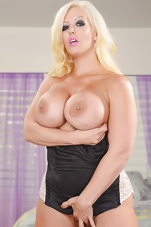 Milf Alura Jenson with huge tits