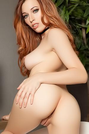 Dirty redhead secretary Caitlin McSwain