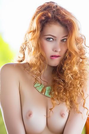 Beautiful Redhead Heidi Romanova