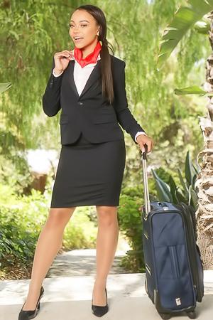 nude stewardess Nicole Bexley