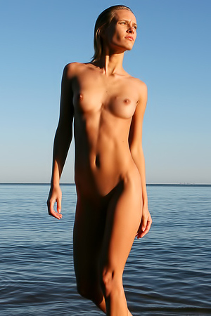 Perfect Svea A is walking naked