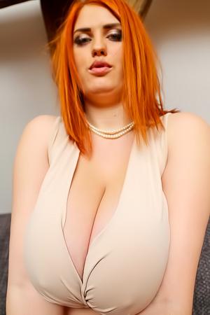 Hot boobed redhead Alexsis Faye