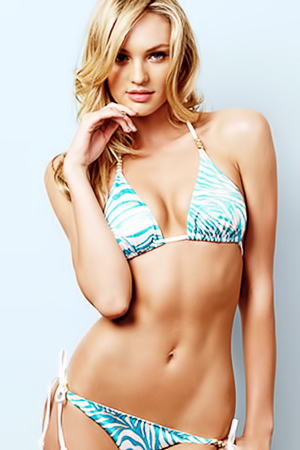 Candice Swanepoel in her best bikini