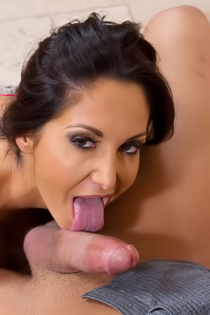Ava Addams is fucking in sexy stockings