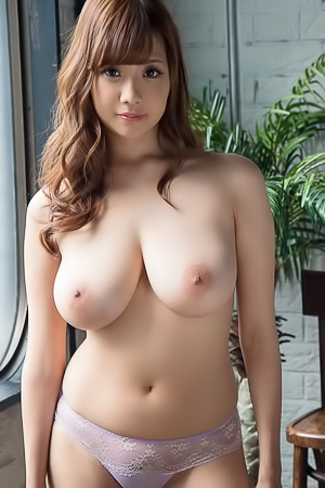 Boobed gentle asian model Shion Utsunomiya