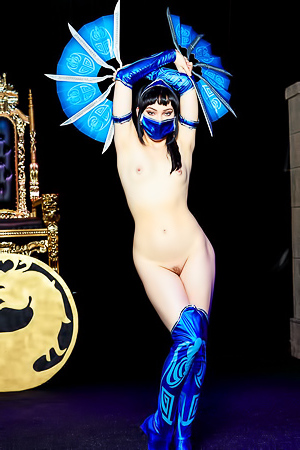 Sexy Kitana from Mortal Kombat