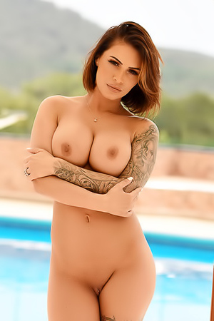 Tattooed Gemma Massey