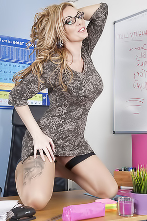 Hot teacher Stacey Saran