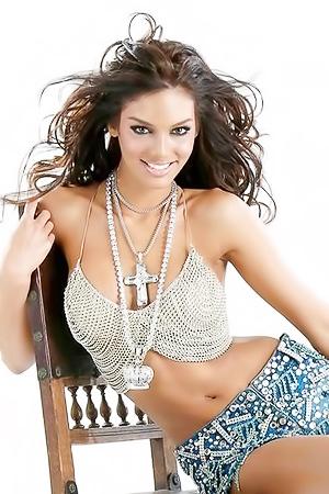 Miss Universe Zuleyka Rivera
