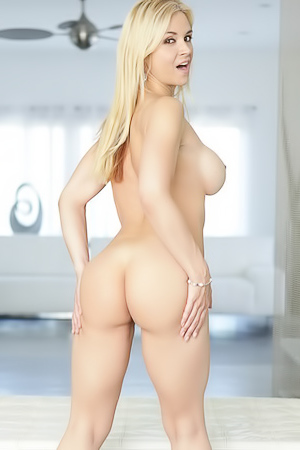 Busty Sarah Vandella is spreading her ass