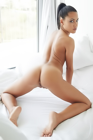 Sexy tanned body