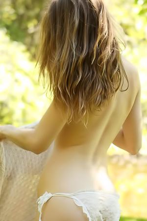 Sexy white skinned Alece