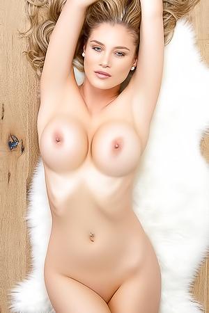Attractive blonde Anna Opsal