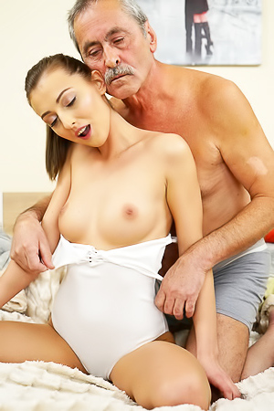 Katy Rose loves old dicks