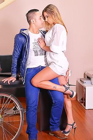 Dream gangbang with Angel Rivas